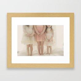 pretty little maidens Framed Art Print