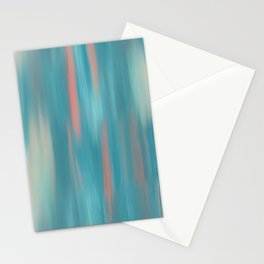 Swimming Salmon Stationery Cards