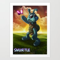 SNURTLE Poster Art Print