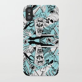 Crash & Burn iPhone Case