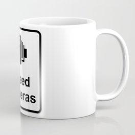 Speed Cameras Sign Coffee Mug