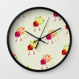 birds of PD Wall Clock