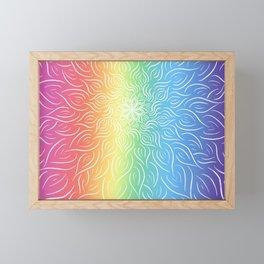 Burst of PRIDE Framed Mini Art Print