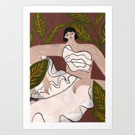 Noa Raviv fall 17 Art Print
