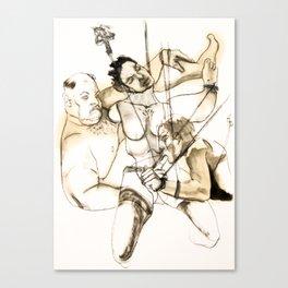 Tristan Corbière, Thick Black Trace, Chanson en Si Canvas Print