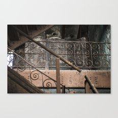 Brew House stairs Canvas Print