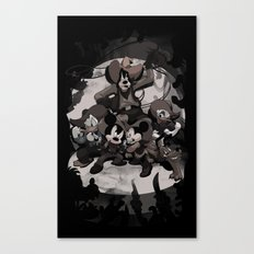 HOWDY MICKEY Canvas Print