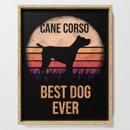 Cane Corso graphic For Dog Lovers \\240 Cute Dog Serving Tray