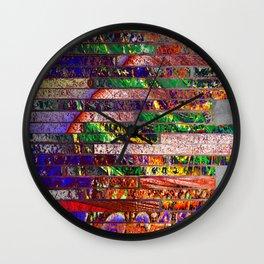 wall of bricks Wall Clock
