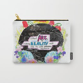 Art Saves Carry-All Pouch
