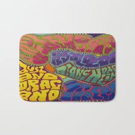 Dust and Drag Bath Mat