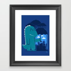 This is my city Framed Art Print