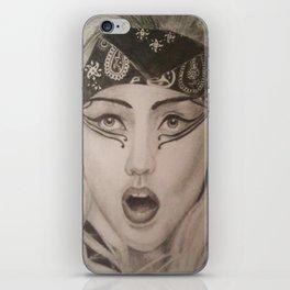 Ga Ga  iPhone Skin