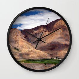 Ki Monastery in Spiti Valley Wall Clock