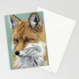 Fox Portrait 01 Stationery Cards
