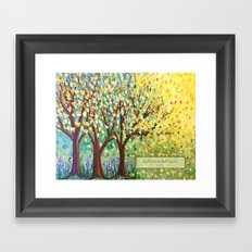 Be Still and Know... Framed Art Print