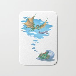 If Dogs Chase Cars... Bath Mat
