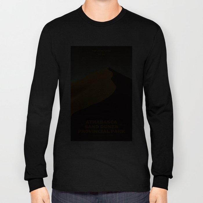 Athabasca Sand Dunes Poster Long Sleeve T-shirt