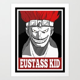 Eustass Kid OB Art Print