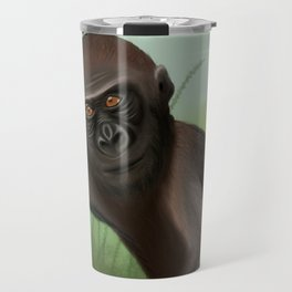 Gorilla in the Jungle Travel Mug