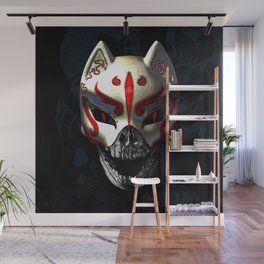 KITSUNE DEATH Wall Mural