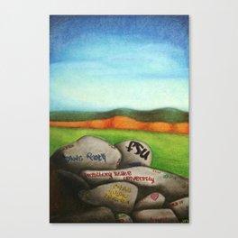 Dan's Rock Canvas Print