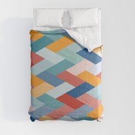 Colorful Geometry VIB Comforters