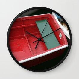 Rockport Boats Wall Clock