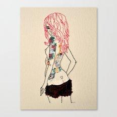 Lass Canvas Print