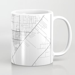 Minimal City Maps - Map Of Elk Grove, California, United States Coffee Mug
