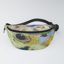Parakeet Hat Parade #6 Patience Fanny Pack