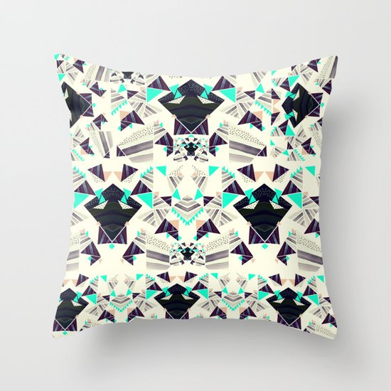 TOTAL MADNESS Throw Pillow