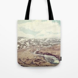 Norwegian Landscape Tote Bag