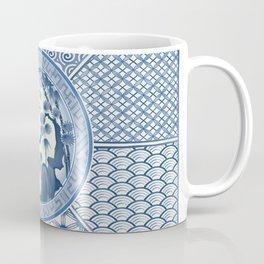 Beautiful Geometric Blooming Cherry Garden Coffee Mug
