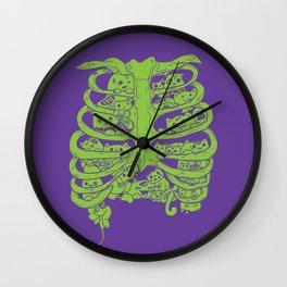 Zombie Kittehhhhhhhsssss Wall Clock