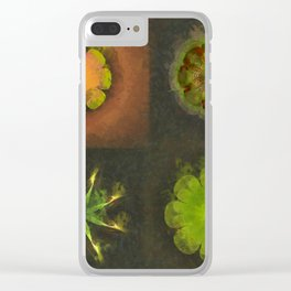Squirm Bared Flowers  ID:16165-120806-85390 Clear iPhone Case