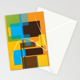 Abstract in Color Stationery Cards
