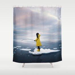 La légende nordique Shower Curtain