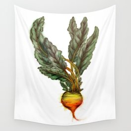 Rooted: The Golden Beet Wall Tapestry