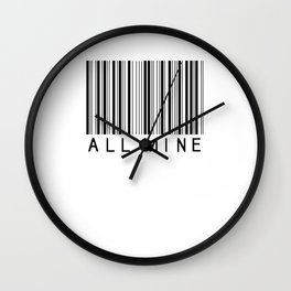 Make it yours. Wall Clock
