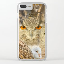 OWL you need is LOVE Clear iPhone Case