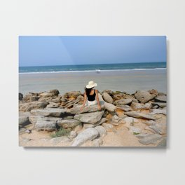 Beach Escape  Metal Print
