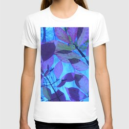 Purple Leaves T-shirt