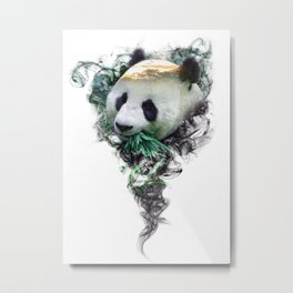 Panda - Spirit Animal Metal Print