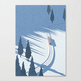 Winter sunshine Canvas Print