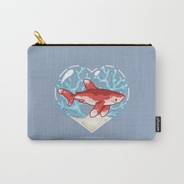 PECK the Whitetip Reef Shark Carry-All Pouch