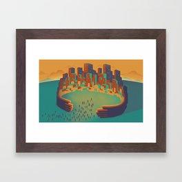 Inclusive City Framed Art Print