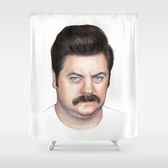 Illustration, Movies-tv and People Shower Curtains | Society6
