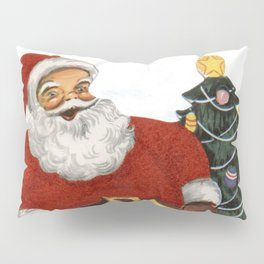 Santa Claus dancing with a child Pillow Sham