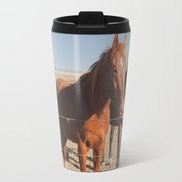 HORSES! Travel Mug
